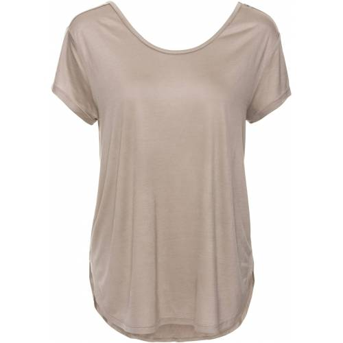 bonprix Shirt mit tiefem Rücken braun