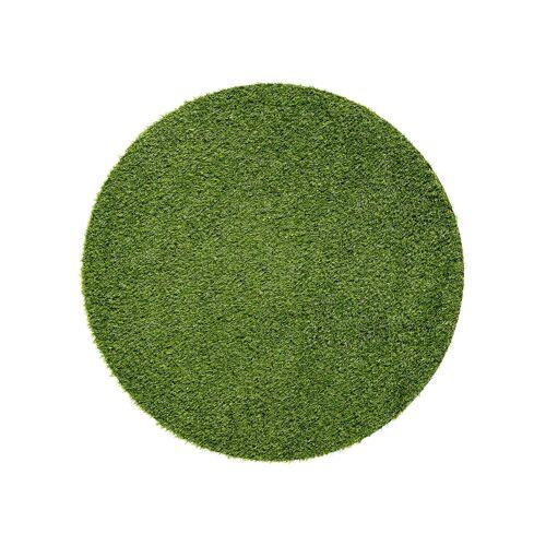 bonprix Runder Kunstrasen Teppich grün