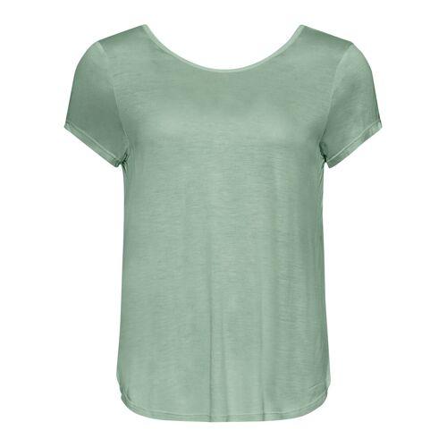 bonprix Shirt mit tiefem Rücken grün