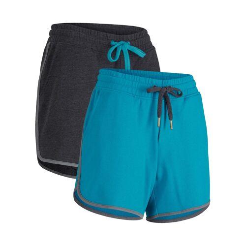 bonprix Sport-Shorts (2er Pack), kurz, Level 1