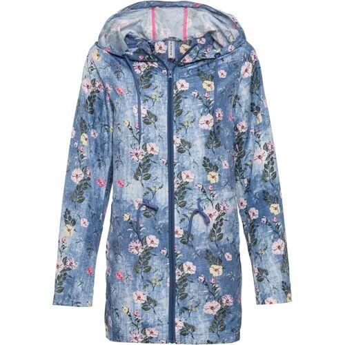bonprix Leichte Jacke ohne Futter mit recyceltem Polyester blau