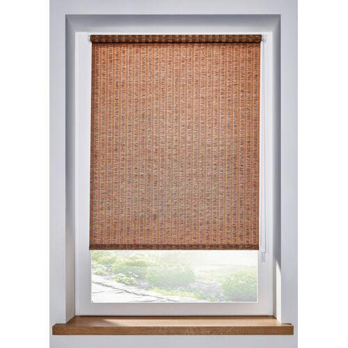bonprix Sichtschutzrollo in Bambus Optik beige