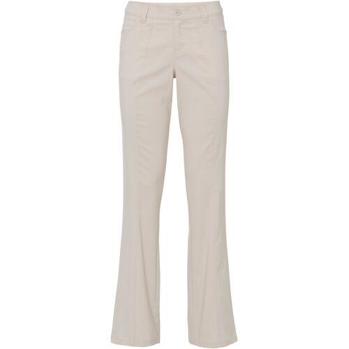 bonprix Stretch-Hose mit Schlag grau
