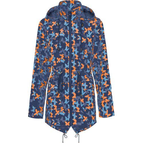 bonprix Sommerjacke in Regenjacken-Optik blau