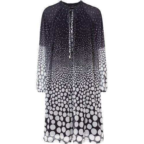 bonprix Plissée-Kleid schwarz