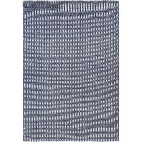 bonprix Teppich mit dezenter Struktur blau