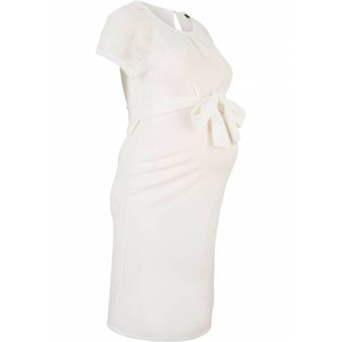 bonprix Umstands-Hochzeitskleid weiß