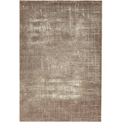 bonprix Teppich mit Struktur in zarten Farben beige