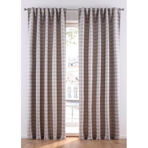 bonprix Jacquard Vorhang (1er Pack) beige