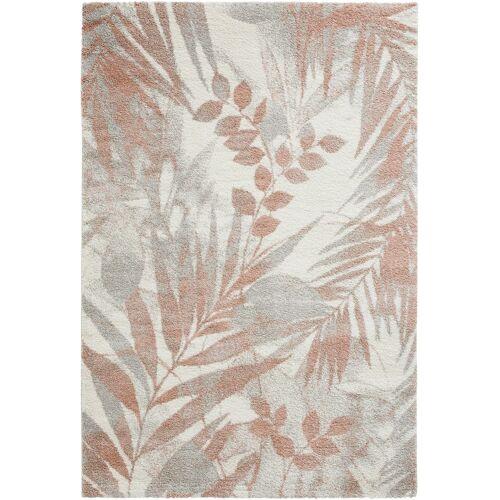 bonprix Teppich in zarten Farben rosa