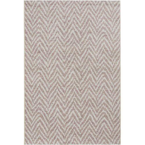 bonprix In- und Outdoor Teppich mit dezenter Struktur rosa