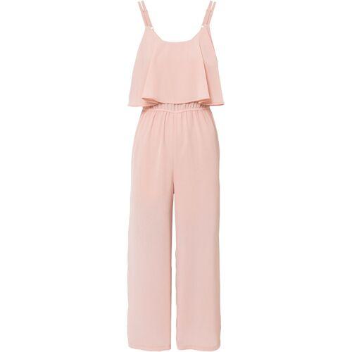 bonprix Chiffon-Jumpsuit rosa