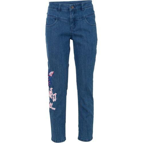 bonprix 7/8-Jeans blau