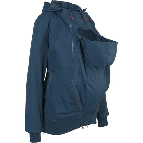 bonprix Umstandsjacke mit Babyeinsatz blau