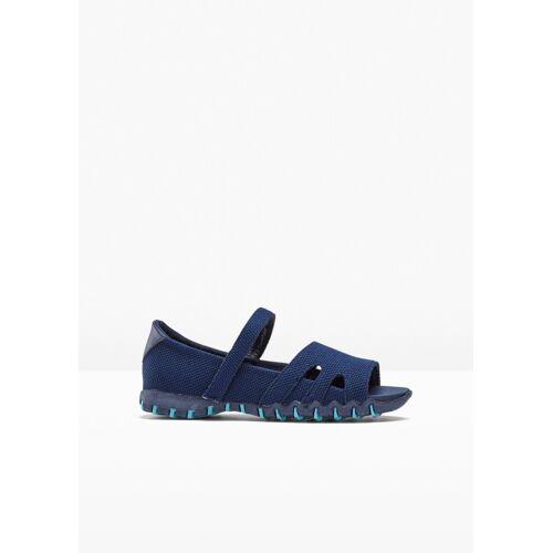 bonprix Trekking Sandale blau