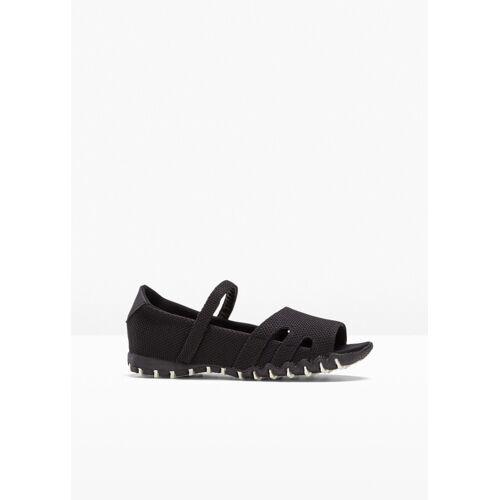 bonprix Trekking Sandale schwarz