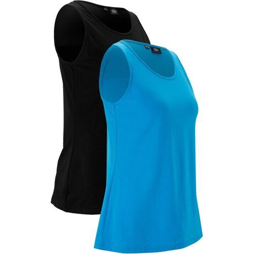 bonprix Sport-Top (2er Pack) blau