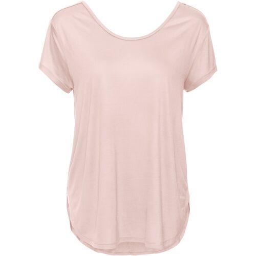 bonprix Shirt mit tiefem Rücken rosa