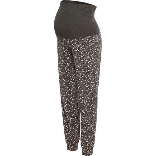 bonprix Umstands-Pyjamahose grau