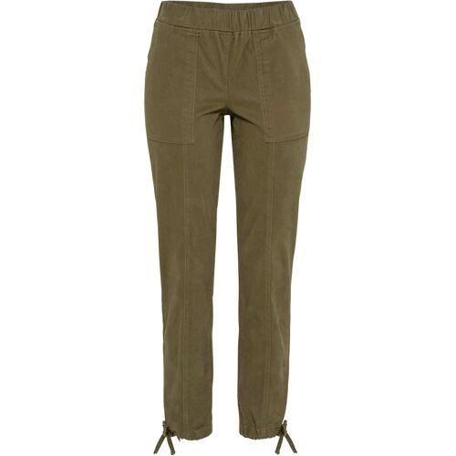bonprix Hose mit elastischem Bund grün