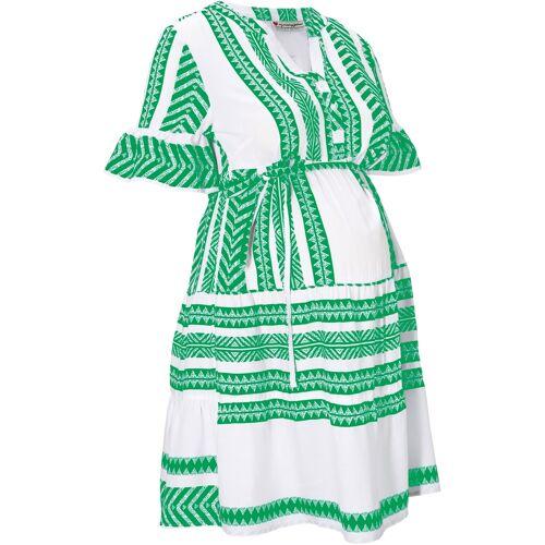 bonprix Umstandskleid / Stillkleid grün