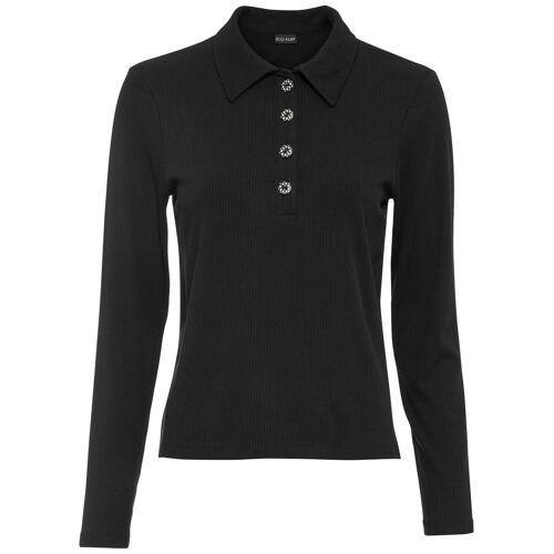 bonprix Poloshirt schwarz