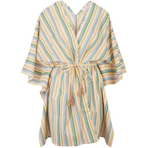 bonprix Strand Kimono-Bluse beige
