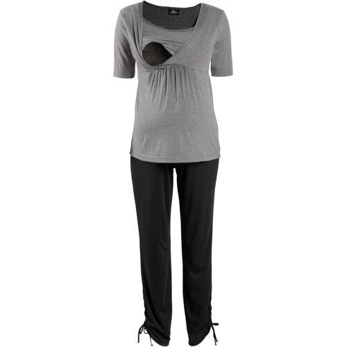 bonprix Wellness-Umstands-Set / Wellness-Still-Set (2-tlg. Set) grau
