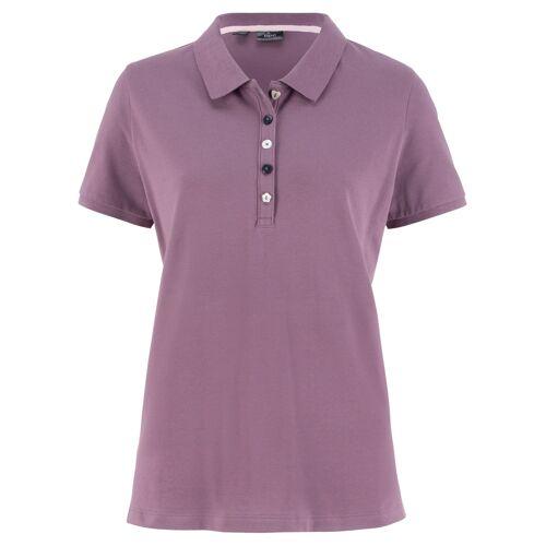bonprix Piqué-Poloshirt lila