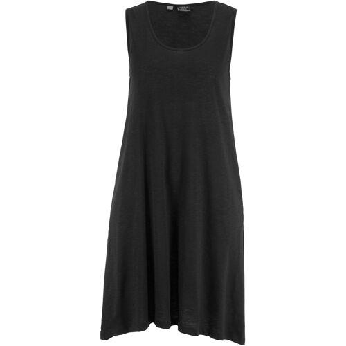 bonprix Hänger-Baumwollkleid schwarz
