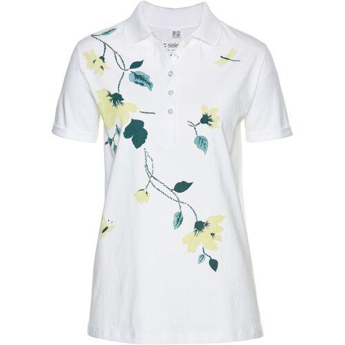 bonprix Poloshirt weiß