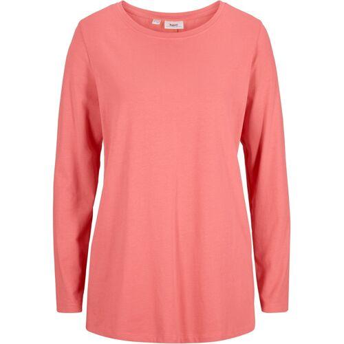 bonprix Lockeres Langarm-Shirt rosa