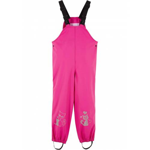 bonprix Mädchen Regenlatzhose pink