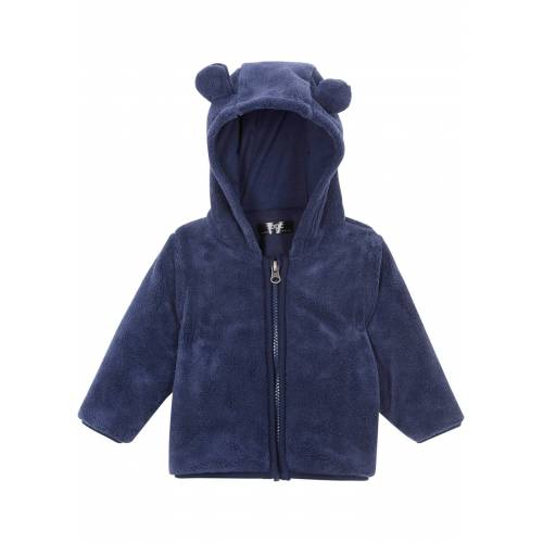 bonprix Baby Teddyfleecejacke blau