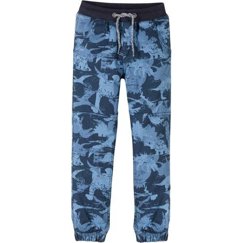 bonprix Jungen Thermohose mit Jerseyfutter, Loose Fit blau