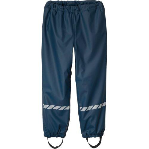 bonprix Jungen Thermo Regenhose blau