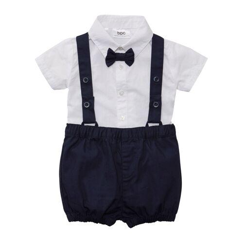 bonprix Baby Hemd + Fliege + Hose (3-tlg. Set) weiß