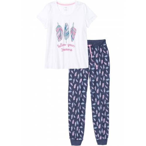 bonprix Pyjama weiß