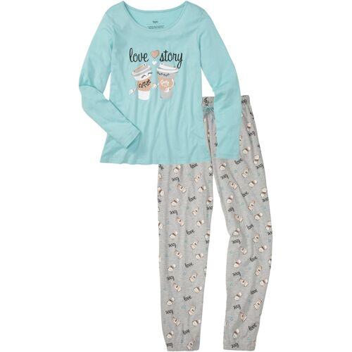 bonprix Pyjama blau