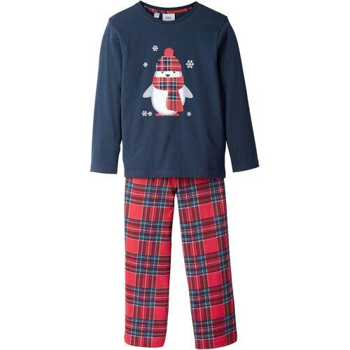 bonprix Kinder Pyjama (2-tlg. Set) blau