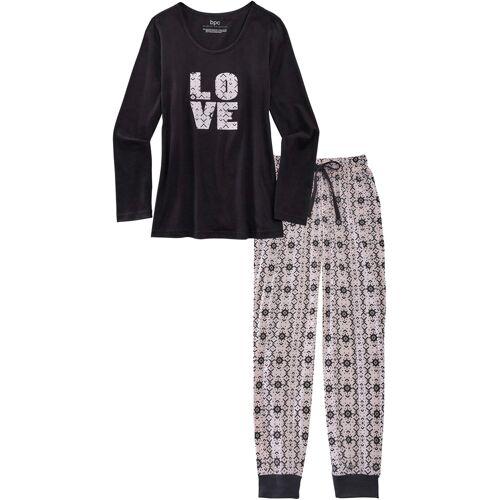 bonprix Pyjama schwarz
