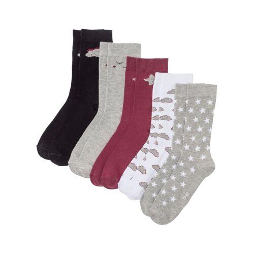 bonprix Socken (5er Pack) Bio-Baumwolle schwarz