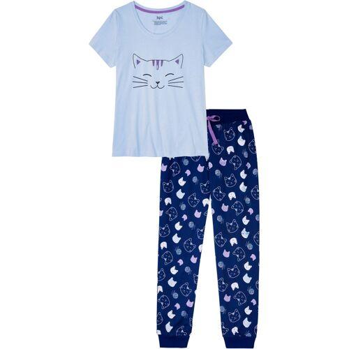 bonprix Pyjama lila
