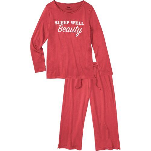 bonprix Capri Pyjama pink