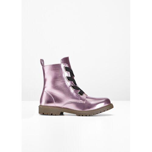 bonprix Schnür Boot rosa