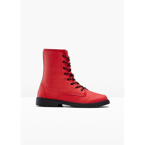 bonprix Schnür Boot rot