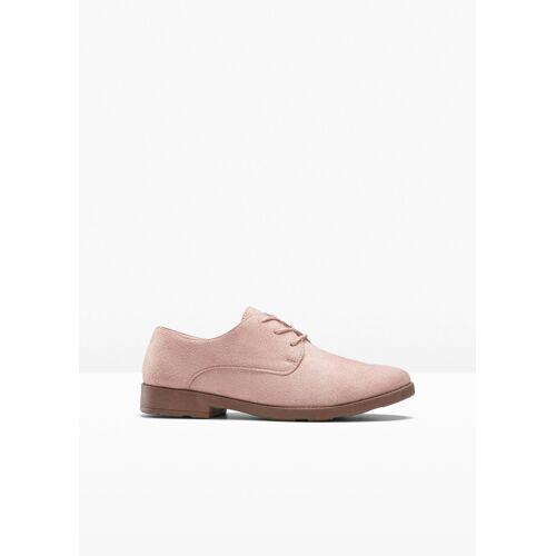 bonprix Schnürschuh rosa