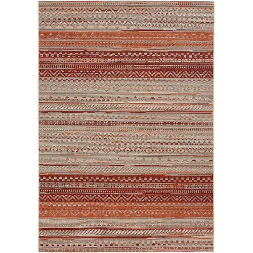 bonprix In- und Outdoor Teppich mit Streifen orange