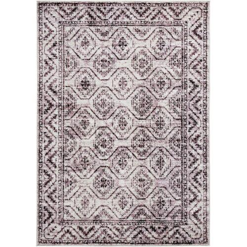 bonprix Teppich mit klassischer Musterung lila