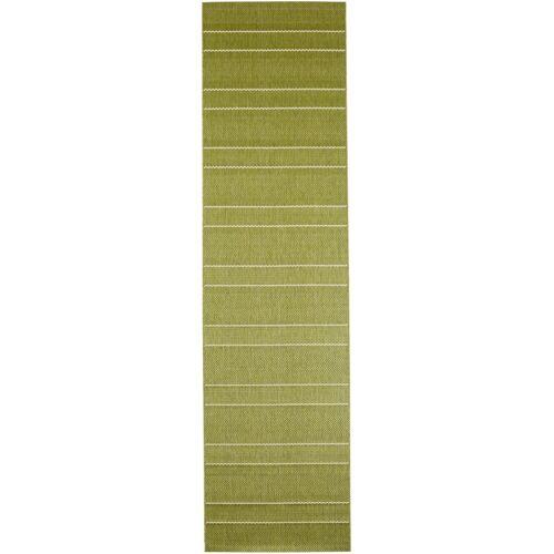 bonprix In- und Outdoor Läufer mit dezenten Streifen grün